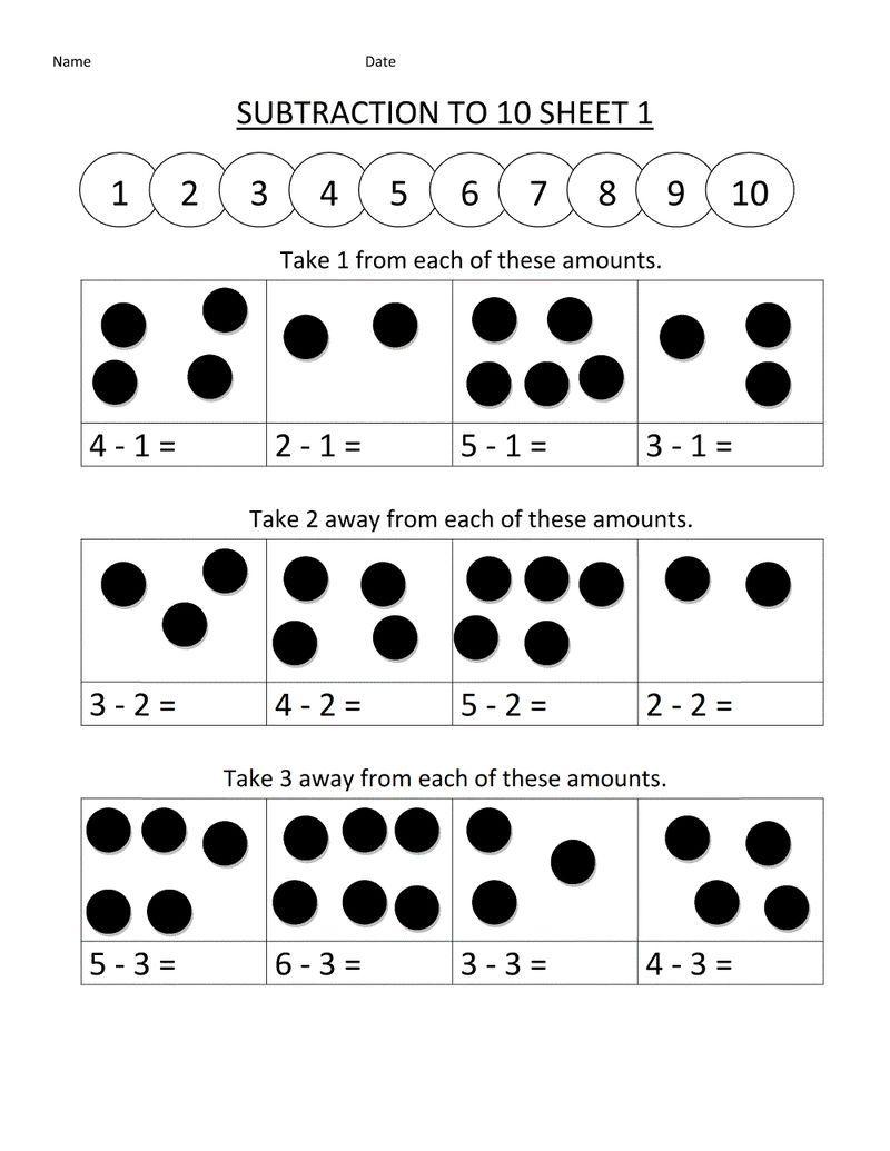 Math Worksheets For Kindergarten Addition And Subtraction Printable Subtraction Worksheets Kindergarten Math Worksheets Kindergarten Subtraction Worksheets [ 1035 x 800 Pixel ]