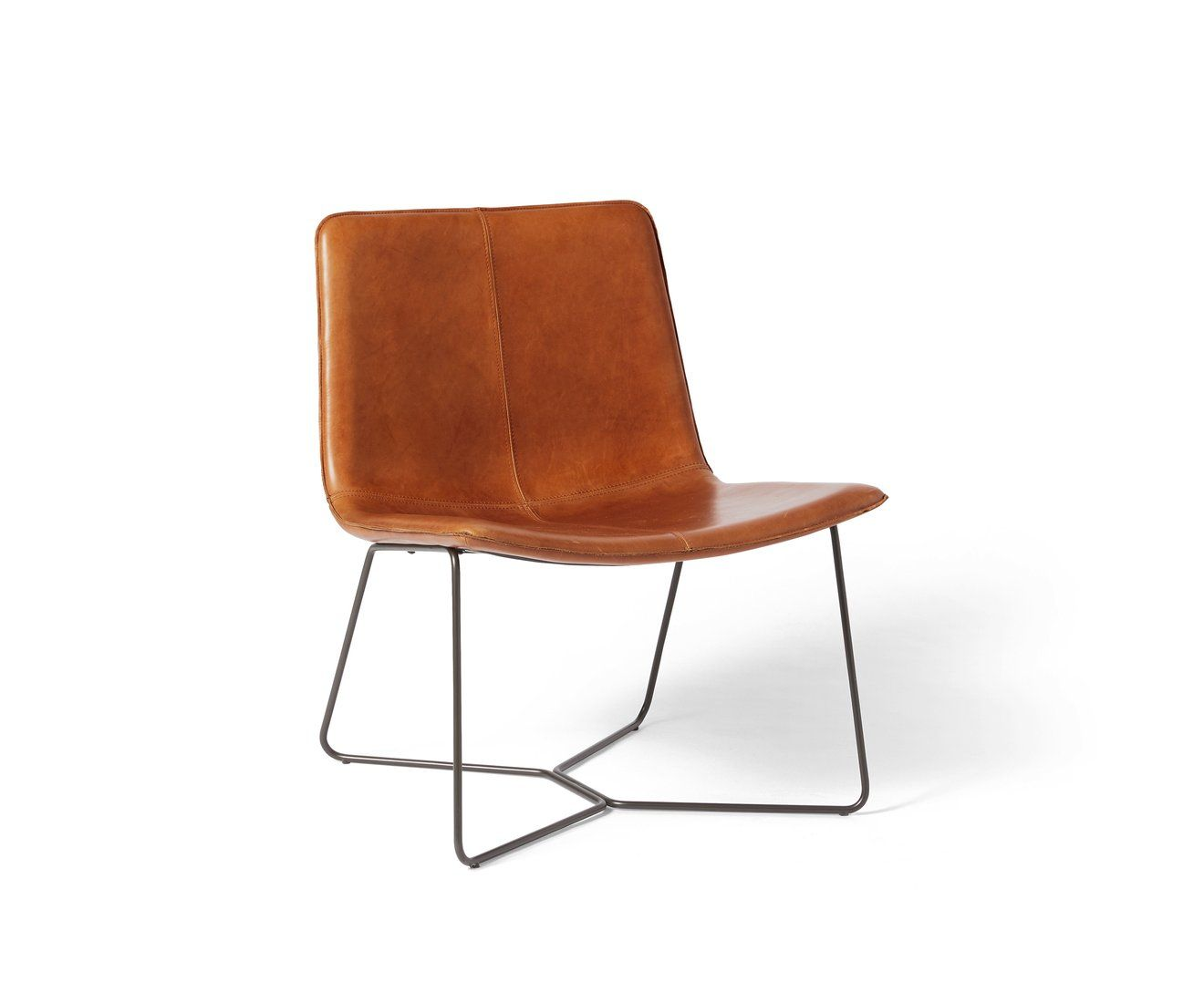 Slope Lounge Chair Leather Dining Chairs Leather Lounge