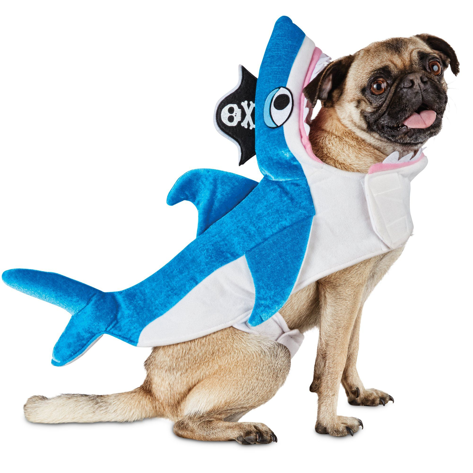 Dog u0026 Cat Shark Costume | Dog u0026 Cat Pirate Shark Costume | Petco  sc 1 st  Pinterest & Dog u0026 Cat Shark Costume | Dog u0026 Cat Pirate Shark Costume | Petco ...