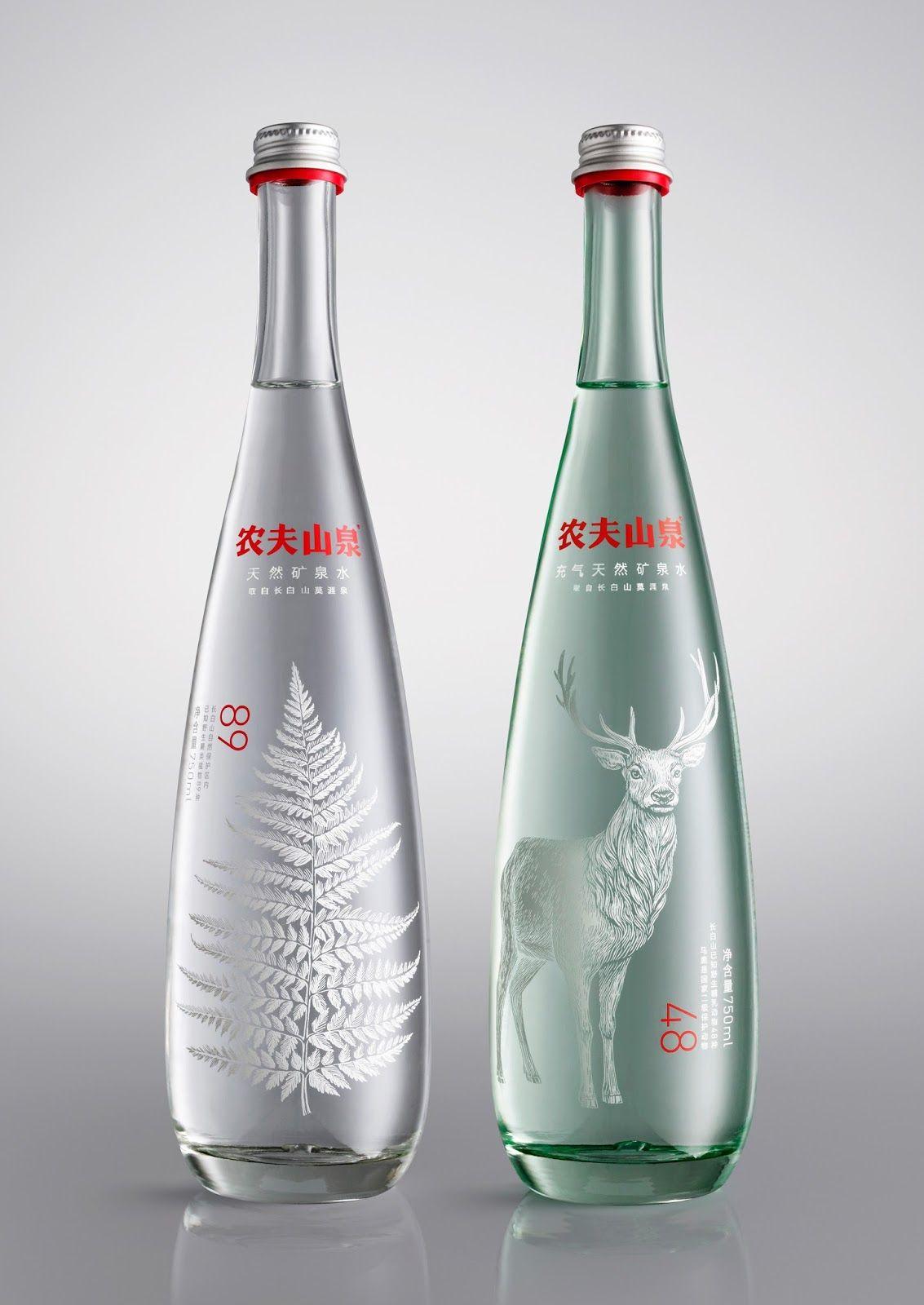l'eau réinventée par des packaging originaux | packaging bouteille