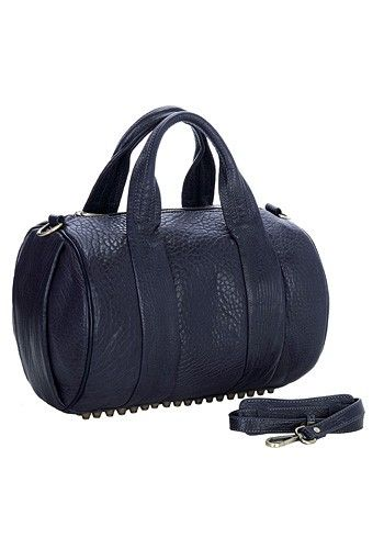Alexa Duffle Studded Calfskin Leather Bag Violet -  159.00 One of our most  popular bags gets 7e20f6600974d
