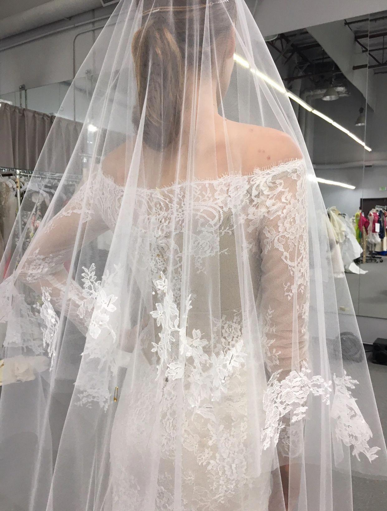 Exclusive The Designer Behind Anastasia S Fifty Shades Wedding Dress Tells All Harpersbazaar C Wedding Dresses Grey Wedding Dress Designer Wedding Dresses [ 1641 x 1242 Pixel ]