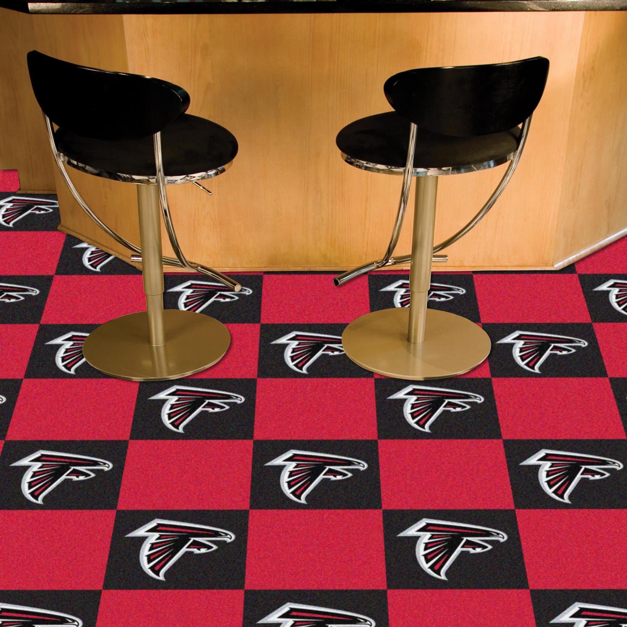 Atlanta Falcons Carpet Tiles 20 Ct Carpet Tiles Carpet Runner Stair Runner Carpet