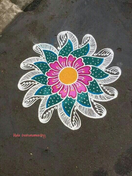Pin By Ponamutha Murugesh On Ama T Rangoli Ideas