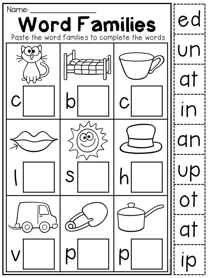 Kindergarten Cvc Worksheet Packet Distance Learning English Worksheets For Kindergarten Phonics Kindergarten Kindergarten Summer Worksheets