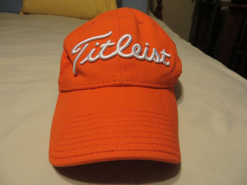 Men s Adjustable Seldom Worn Orange Titleist CLEMSON University New Era  Golf Hat  fashion  clothing  shoes  accessories  mensaccessories  hats  (ebay link) 9239d291b9b