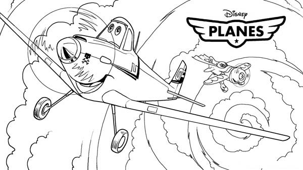 Meet Dusty Crophopper In Disney Planes Coloring Page Kids Play Color Coloring Pages Airplane Coloring Pages Monster Truck Coloring Pages