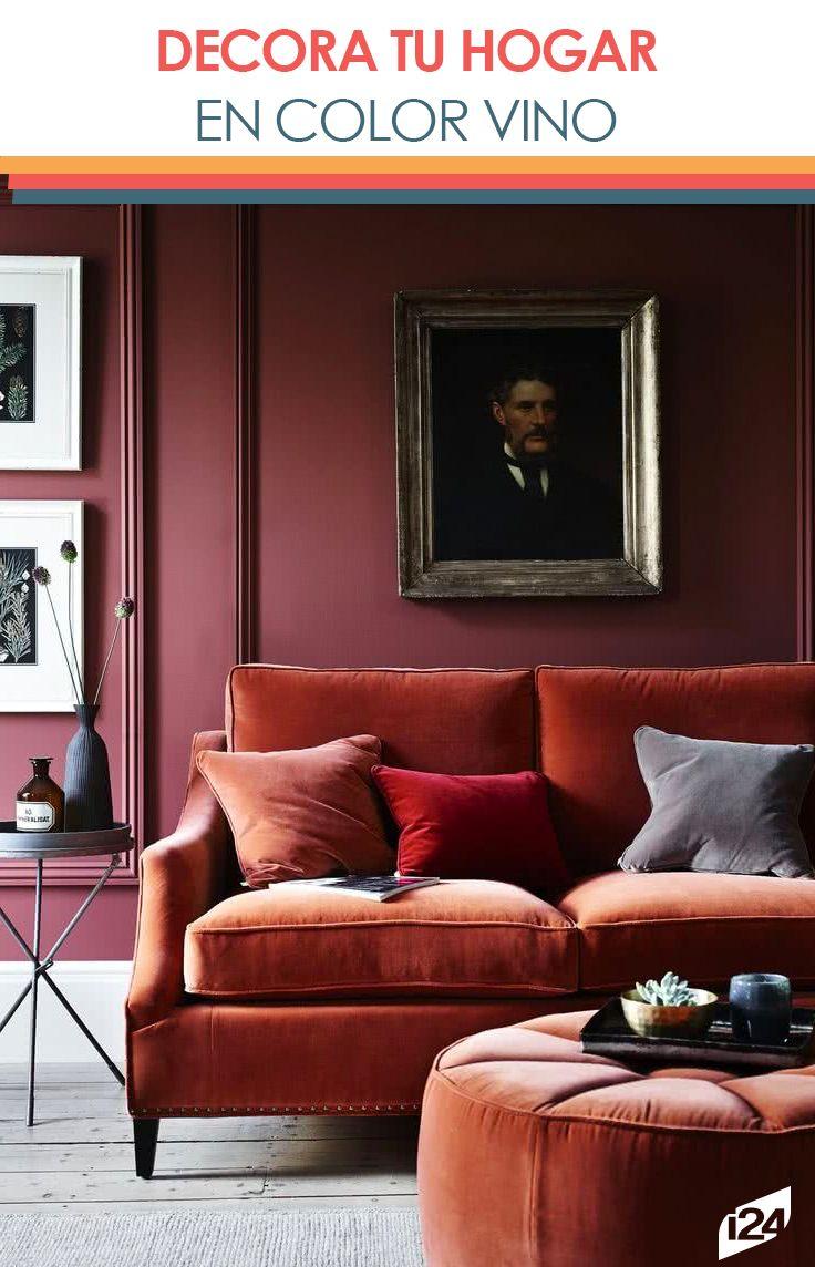 Toma el riesgo y decora tu hogar de un dulce color vino en for Home disena y decora tu hogar