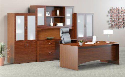Mayline Brighton Series Typical 9 Desk Furniture