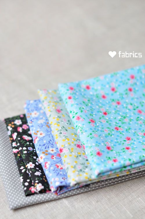 #floral #fabrics from my stack...