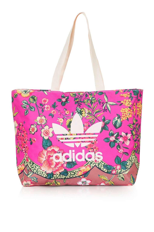 Floral Tote Bag by Adidas Originals - Taschen   Accessoires  36b34fe7b9a97