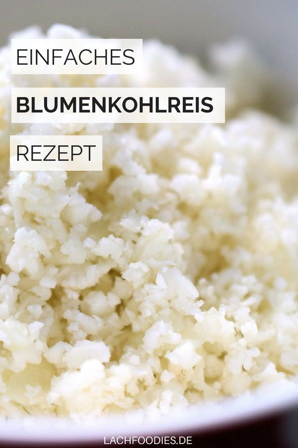 So simple: Blumenkohlreis #ricedcauliflower