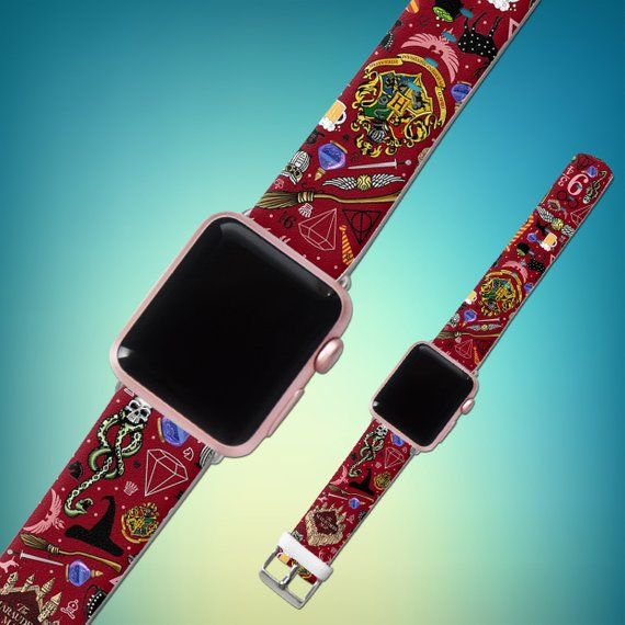 a76bfb20e34 Inspired by Harry Potter Apple Watch 44mm iWatch band Leather band iWatch  strap 40mm Watch band 42mm