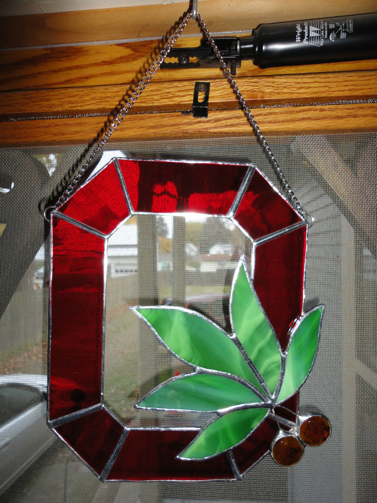 The Ohio State University Buckeyes Block Quot O Quot Stained Glass