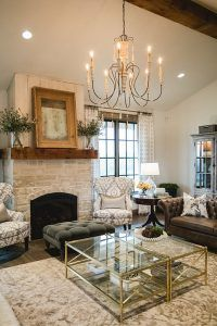Sherwin Williams Sw 7011 Natural Choice Sherwin Williams Sw 7011 Natural Modern Farmhouse Living Room Decor Farm House Living Room Farmhouse Style Living Room