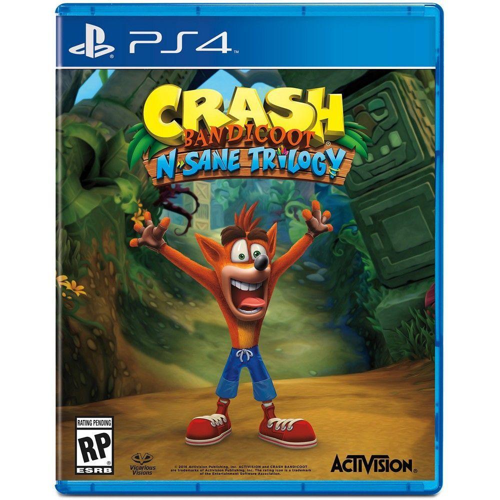 6dc4ade06db5ee Crash Bandicoot N. Sane Trilogy - PlayStation 4 | Products | Crash ...