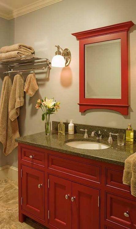 bathroom paint colors red basements 26 ideas bathroom