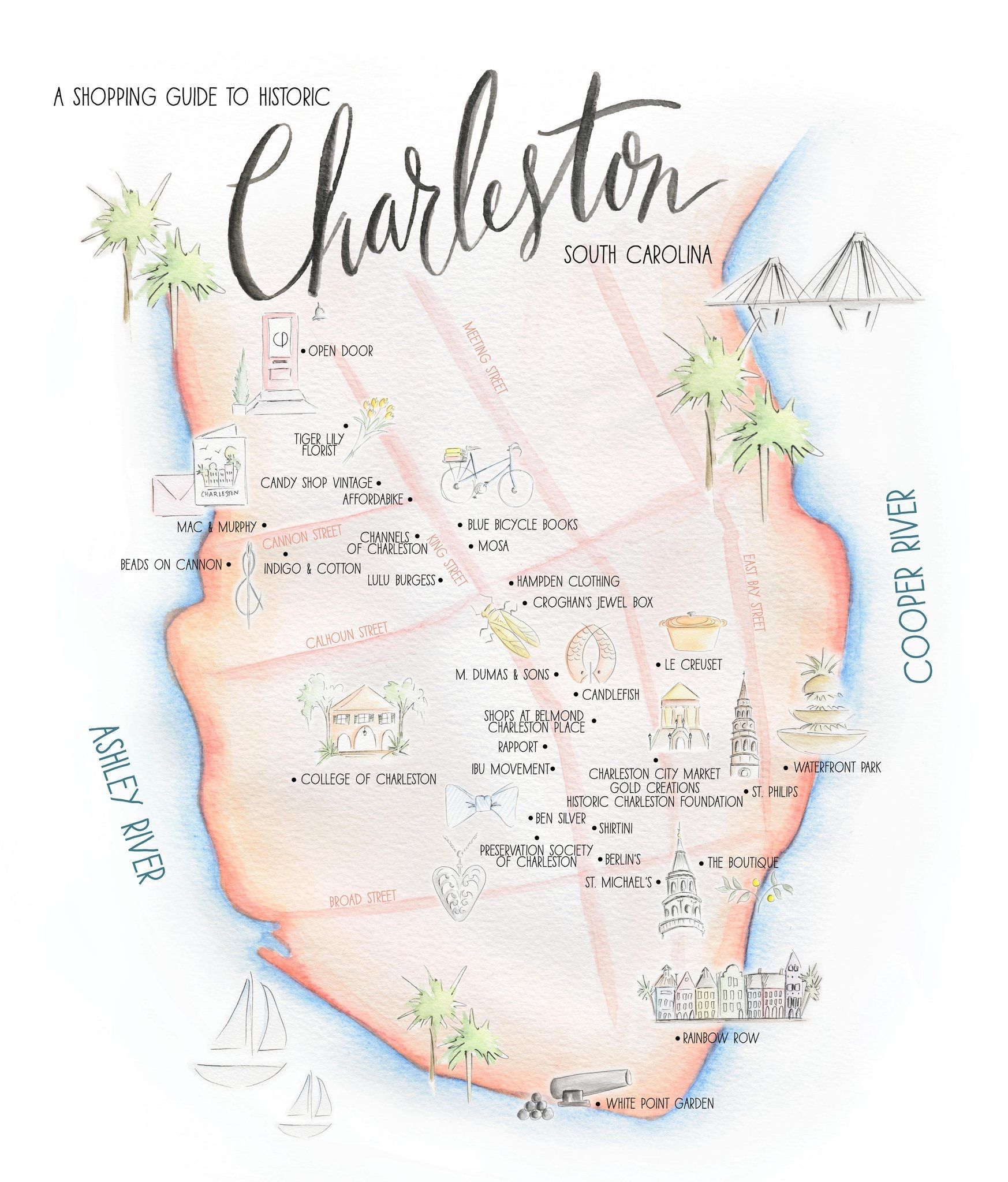 A Shopping Guide To Historic Charleston Sc Charleston In 2019