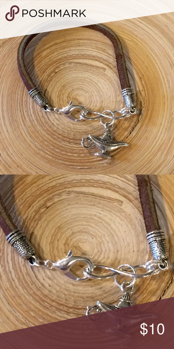 Charms for Bracelets and Necklaces Rope Disc Charm With Lobster Claw Clasp