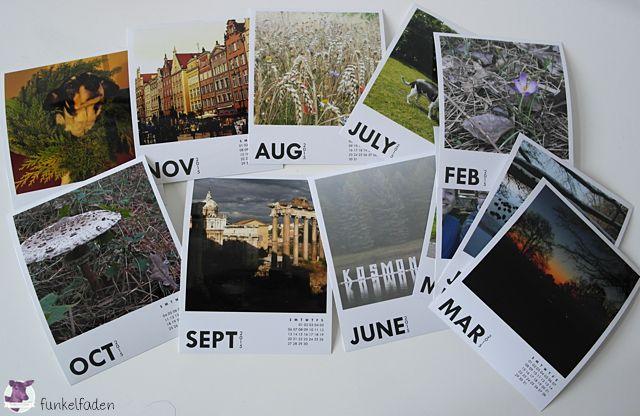 Printic Fotokalender Im Polaroid Stil Kalender Fotokalender