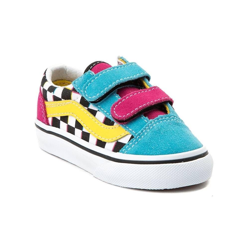 Vans Old Skool V Chex Skate Shoe