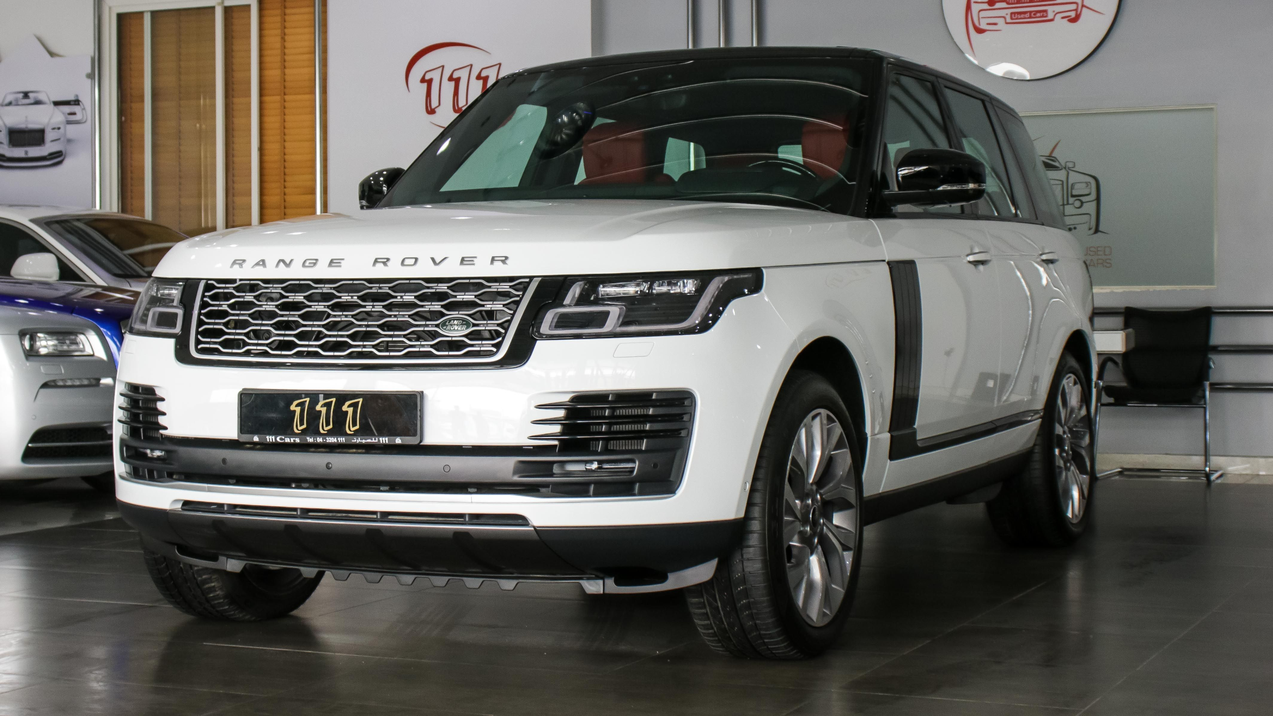 Model Range Rover Vogue Se Supercharged Gcc Specs 5 Year