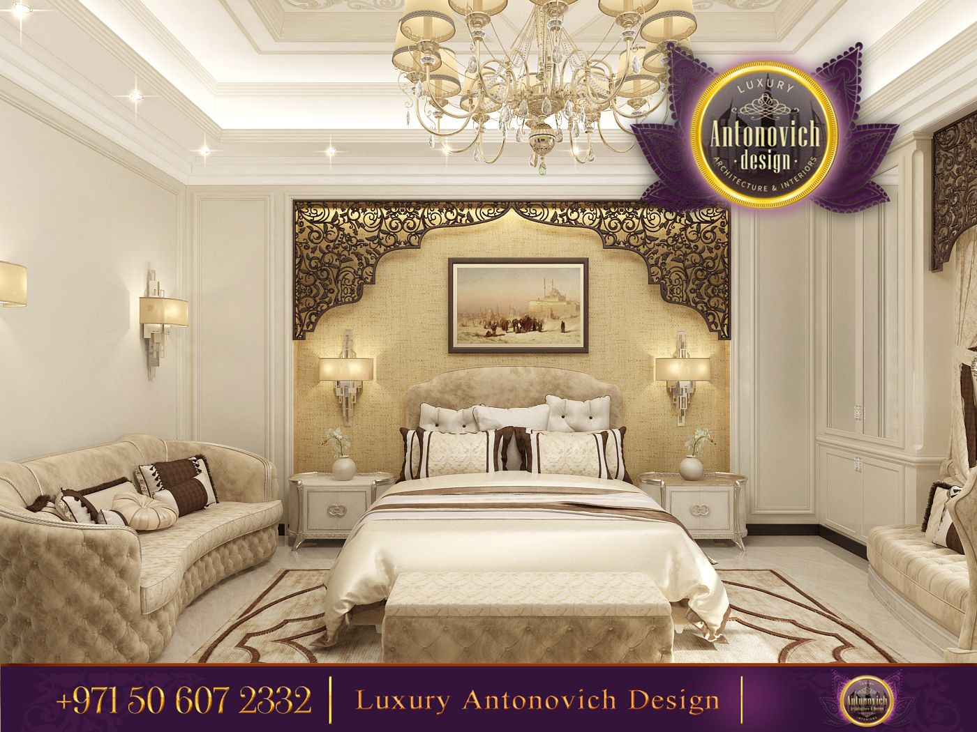 Best Gorgeous Style From Luxury Antonovich Design The Decoration Of The Wall Is A True Mastetpiece 400 x 300