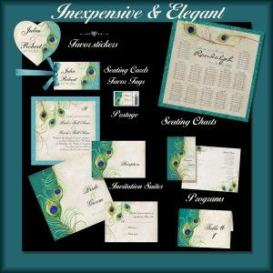 Explore Peacock Wedding Invitations And More