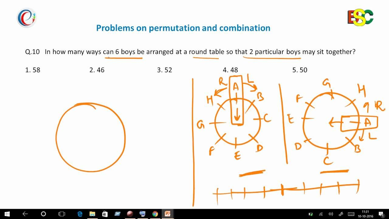 how to solve permutation equations