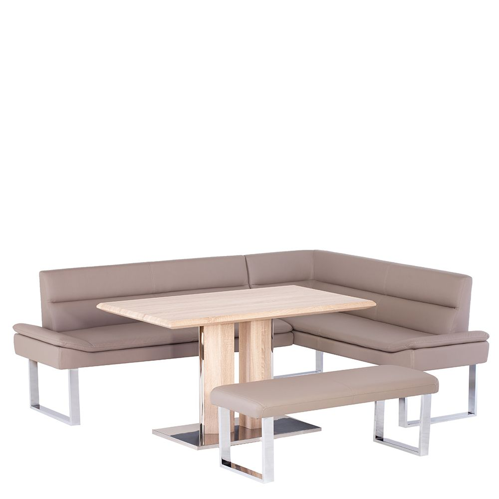Elvia Corner Bench Lh 120cm U0026 Dining Table Benches