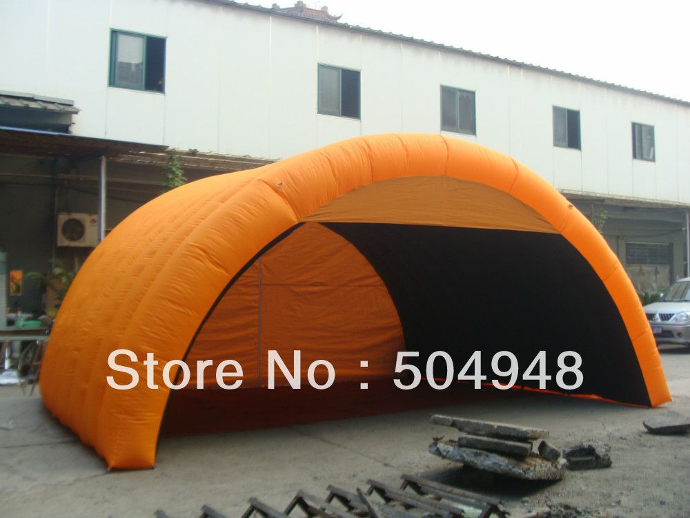 Orange Inflatable Car Cover Tent #Affiliate & Orange Inflatable Car Cover Tent #Affiliate | Festive u0026 Party ...