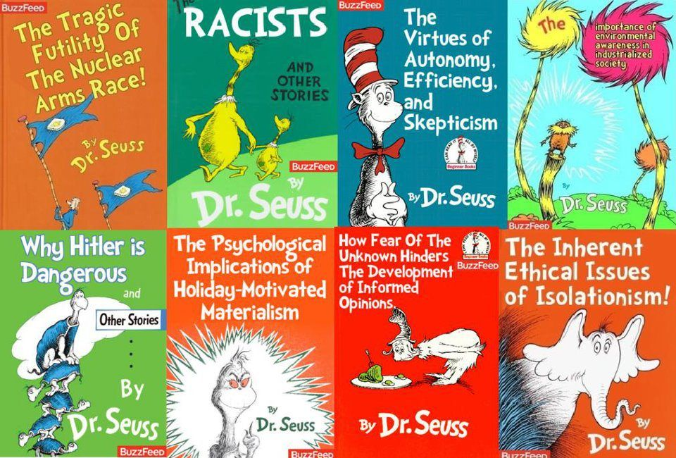 Real Dr Seuss Titles Dr Suess Books Books Funny Facts