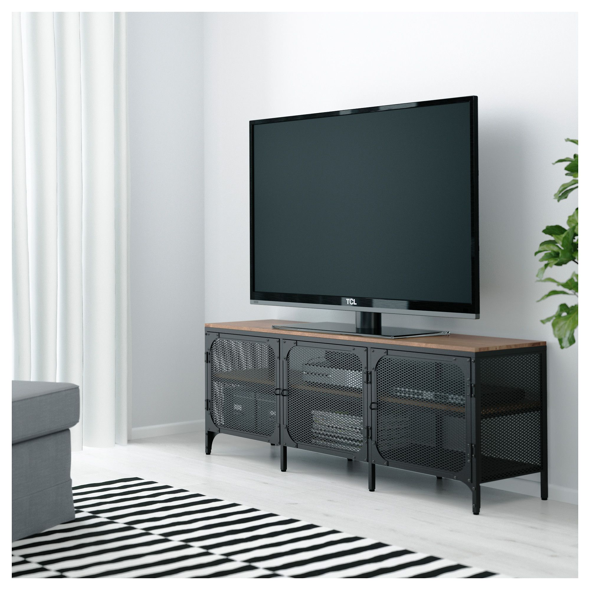 fj llbo tv bench black home decor pinterest meuble t l meuble tv et meuble. Black Bedroom Furniture Sets. Home Design Ideas