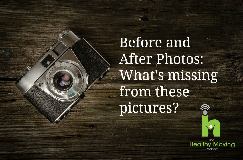 Before and after photos: what's missing from these pictures? - do before and after photos bother you?