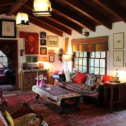 Living Room Bohemian Design, Pictures, Remodel, Decor And Ideas