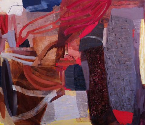 Art Piece gallery emma walker   Over and Beyond Oil on linen 130 x 150 cm