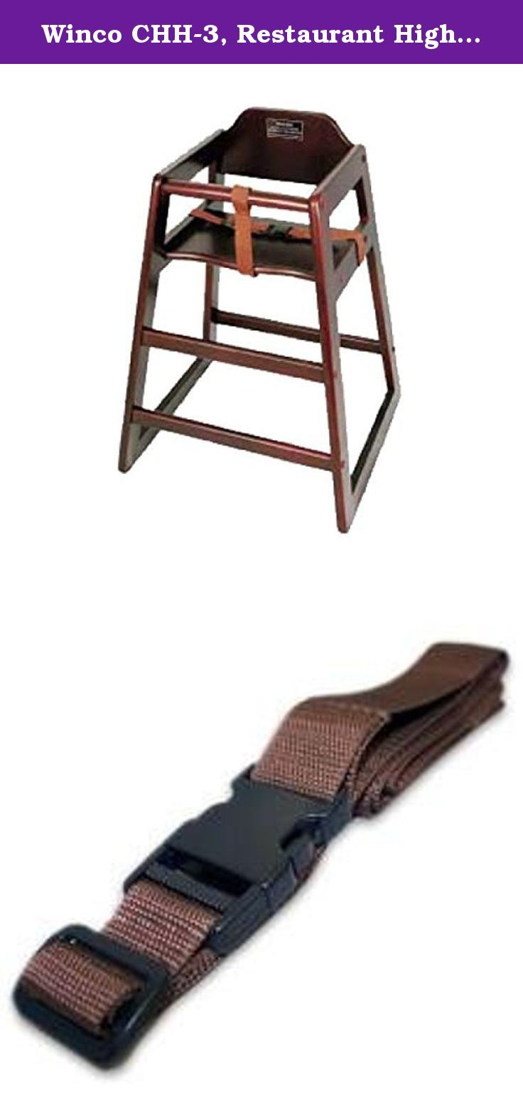 Winco CHH-3, Restaurant High Chair Security Straps for Kids ...