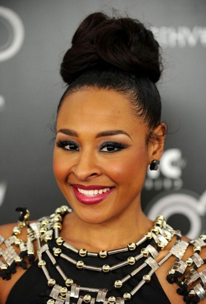 Updo Bun Hairstyles For Black Women Black Hair Updo Hairstyles