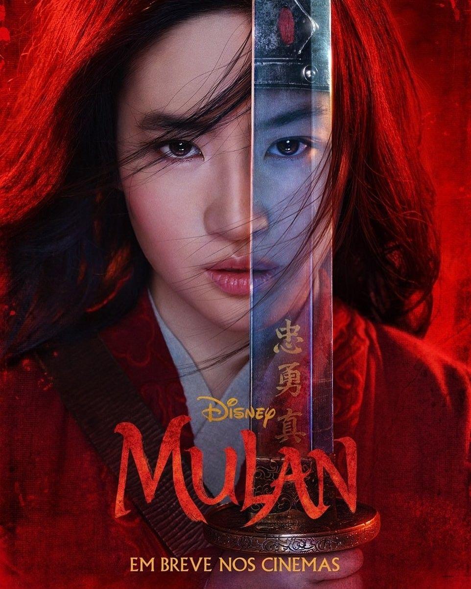 Disney Divulga O Primeiro Poster Do Filme Mulan Mulan Filmes Online Gratis Filmes