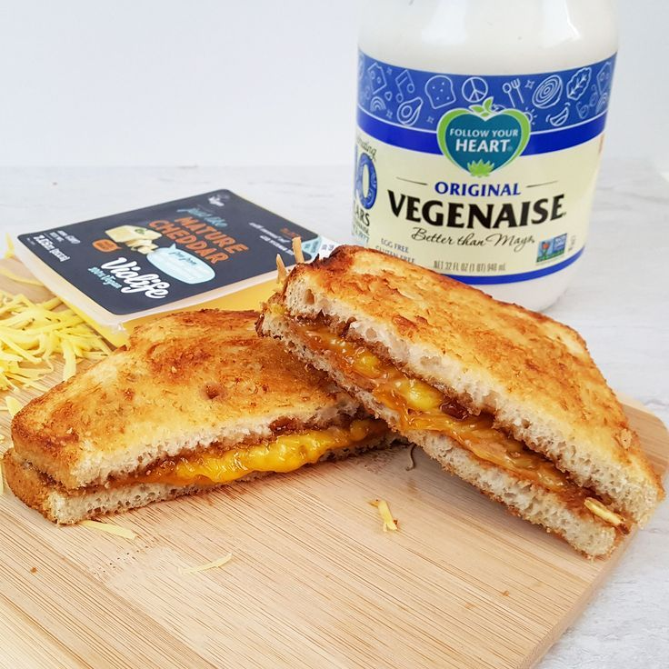 AirFried Vegan Grilled Cheese Two Ways (After School