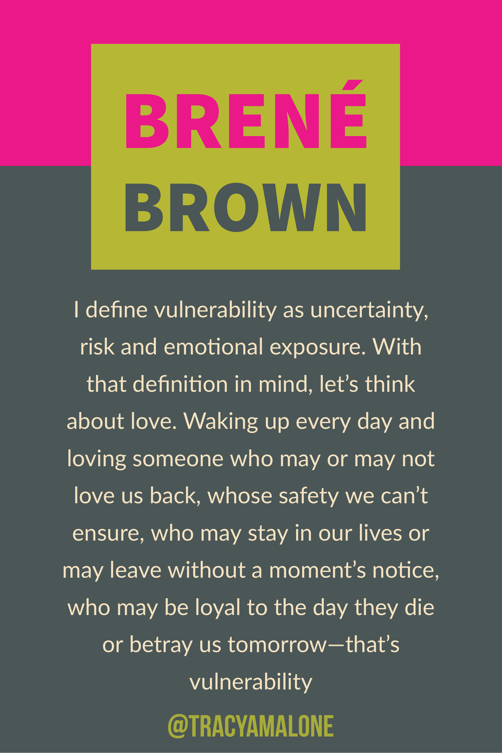 i define vulnerability as uncertainty risk and emotional exposure