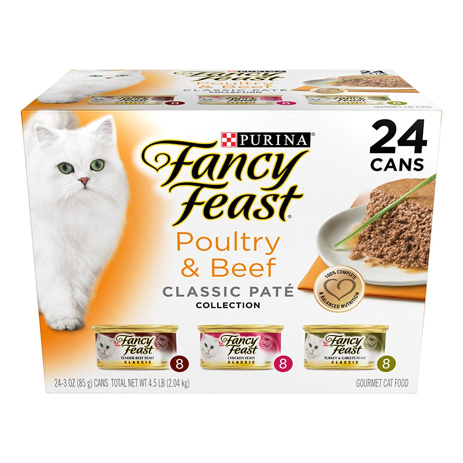 Purina Fancy Feast Classic Gourmet Wet Cat Food 24 3 Oz Cans Wow I Love This Check It Out Now Fancy Feast Cat Food Cat Food Reviews Cat Food Coupons