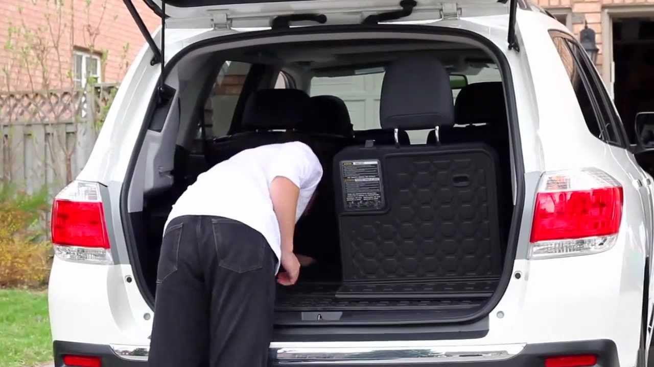 Toyota highlander cargo liner