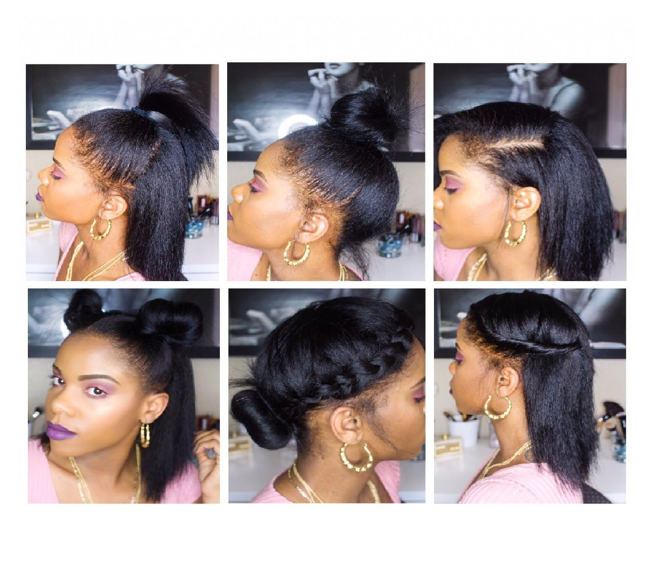 10 Easy Back To School Hairstyles For Short Straight Hair Natural Straight Hair Straight Hairstyles Short Straight Hair