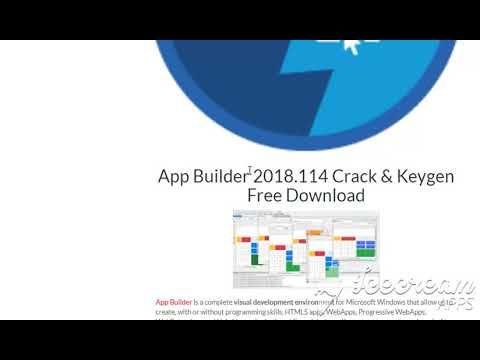App Builder 2018 114 Crack & Keygen Free DownloadApp Builder