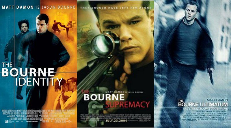 The Bourne Trilogy series