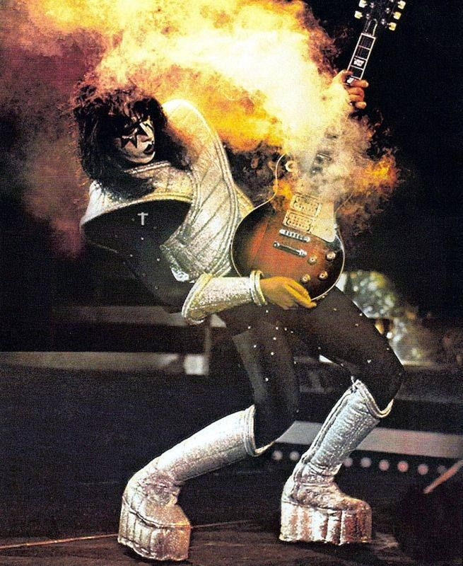 My First Guitar Hero Ace Frehley And His Smokin Hot Tobacco