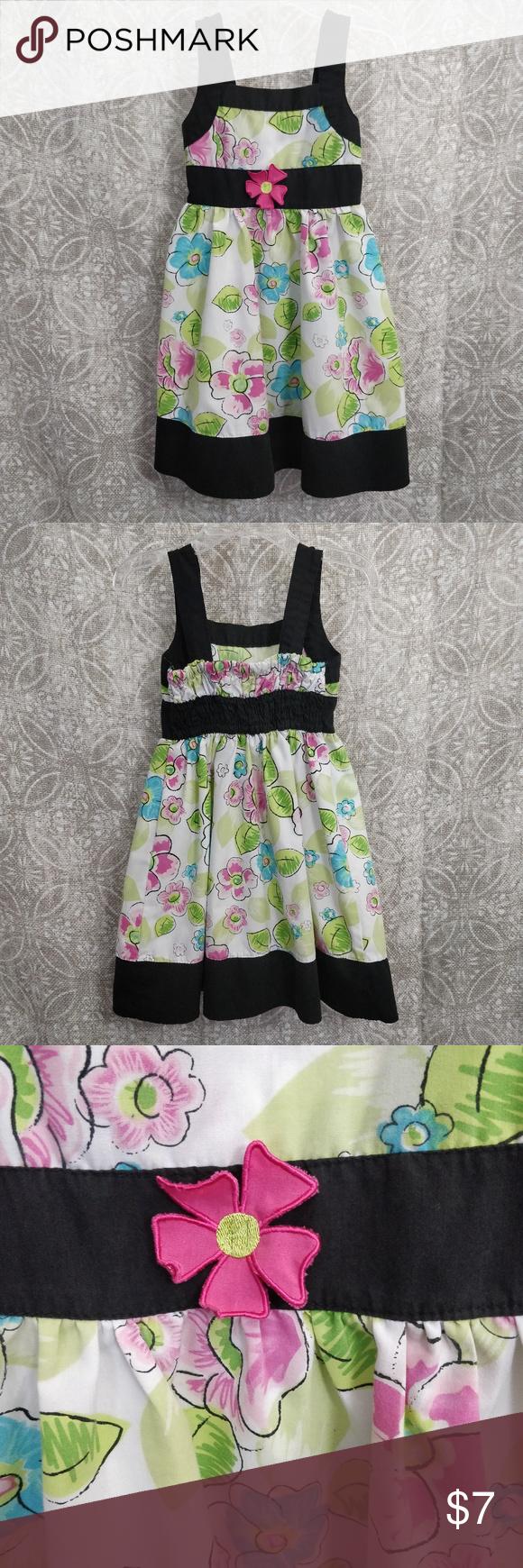 4t Adjustable Strap Sun Dress Clothes Design Dresses Adjustable Strap Dress [ 1740 x 580 Pixel ]