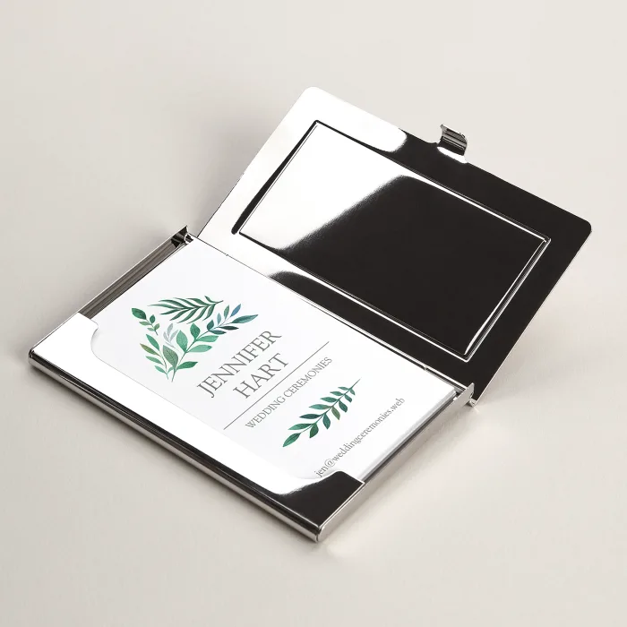 Metal Business Card Holders Professional Card Holder Vistaprint Metal Business Cards Business Card Holders Business Cards