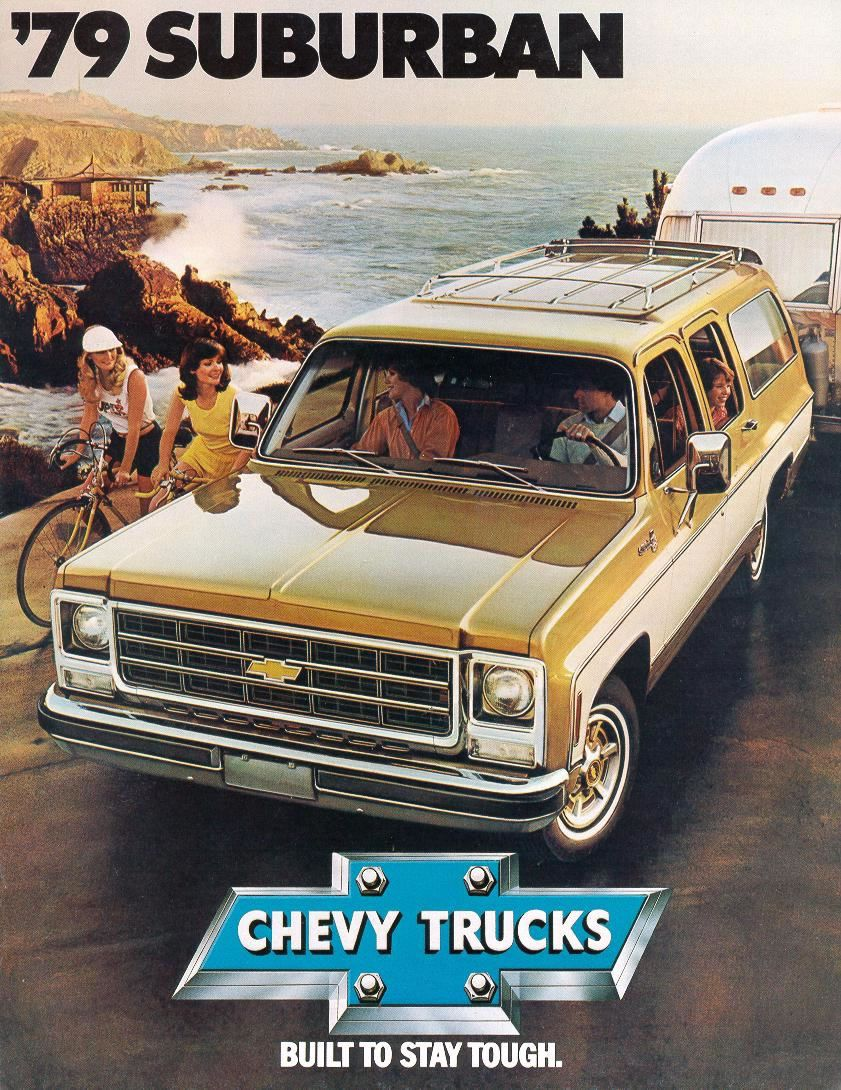 Home by year 1979 cars 1979 trucks car pictures - Car Brochures 1979 Chevrolet And Gmc Truck Brochures 1979 Chevy Suburban 01